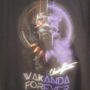 Men's Black Wakanda Forever T- Shirt